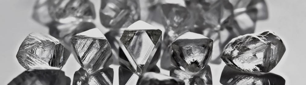 Damdia Rough White Diamonds
